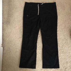 Black wonderwink scrub pants